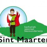 Logo voor de 'Sint Maarten' school(= 1 van  24 basisscholen)
