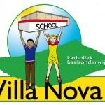 Logo voor 'Villa Nova' (= 1 van  24 basisscholen)