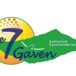 Logo voor 'De Zeven Gaven' (= 1 van  24 basisscholen)