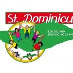 Logo voor  de 'St. Dominicus' (= 1 van  24 basisscholen)