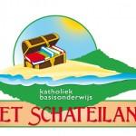Logo voor 'Het Schateiland' (= 1 van  24 basisscholen)