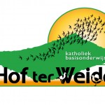 Logo voor 'Hof ter Weide' (= 1 van  24 basisscholen)