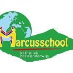 Logo voor de'Marcusschool' (= 1 van  24 basisscholen)