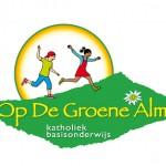 Logo voor 'Op De Groene Alm' (= 1 van  24 basisscholen)