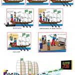Het Stripverhaal m.b.t. 'Expeditie Columbus'