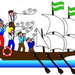 Plaatje 3 Stripverhaal Expeditie Columbus