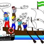 Plaatje 4: 'Zelfstandig' Stripverhaal Expeditie Columbus
