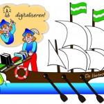 Plaatje 6: 'Innovatief' Stripverhaal Expeditie Columbus