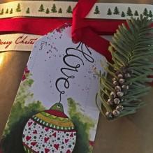 1. Christmasball labels / Kerstbal labels(10 labels, 10 designs/ontwerpen). KLIK VERDER!
