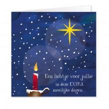 Kerst 7: Lichtje voor JULLIE: 10 KAARTEN!