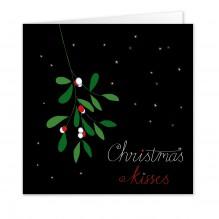 Kerst 6: Christmas Kisses(Engels) 10 KAARTEN!