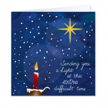Kerst 7B: Sending you light(Engels): 10 KAARTEN!