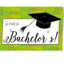 Geslaagd Bachelor's 2(TIJDELIJK UITVERKOCHT!)