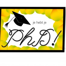 Geslaagd PhD 2