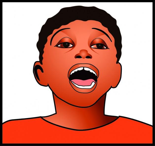 Detail uit logo voor 'Kind en Muziek' 2