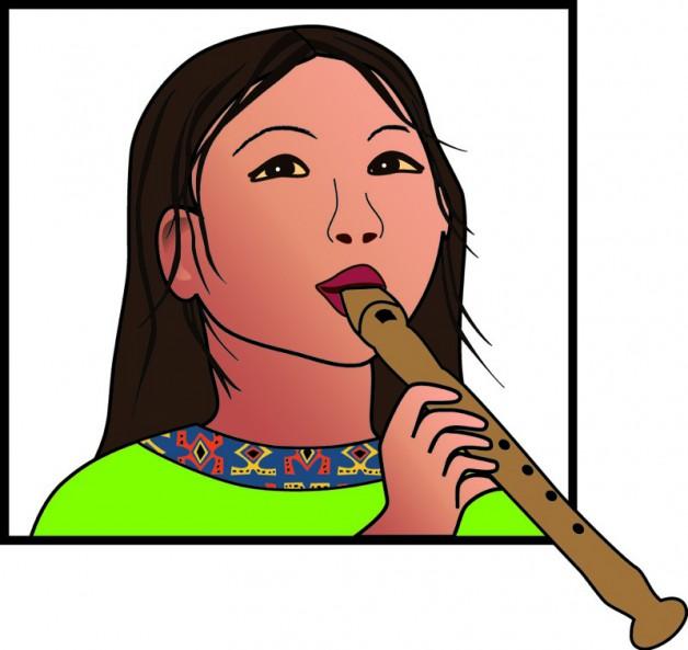 Detail uit logo voor 'Kind en Muziek' 3